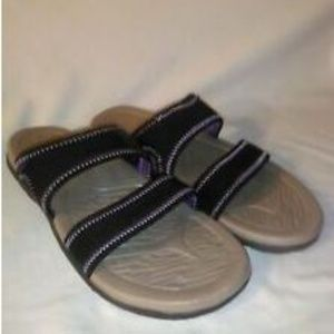 Northside Spandex Sandals Textured Arch Stretchy
